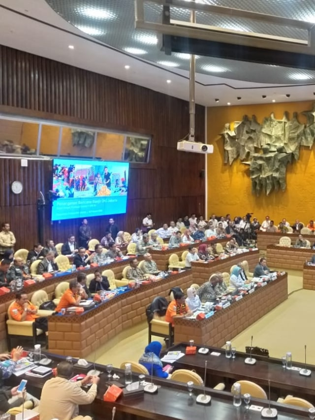 PTR-Rapat Komisi V DPR RI dengan PUPR dan Gubernur DKI