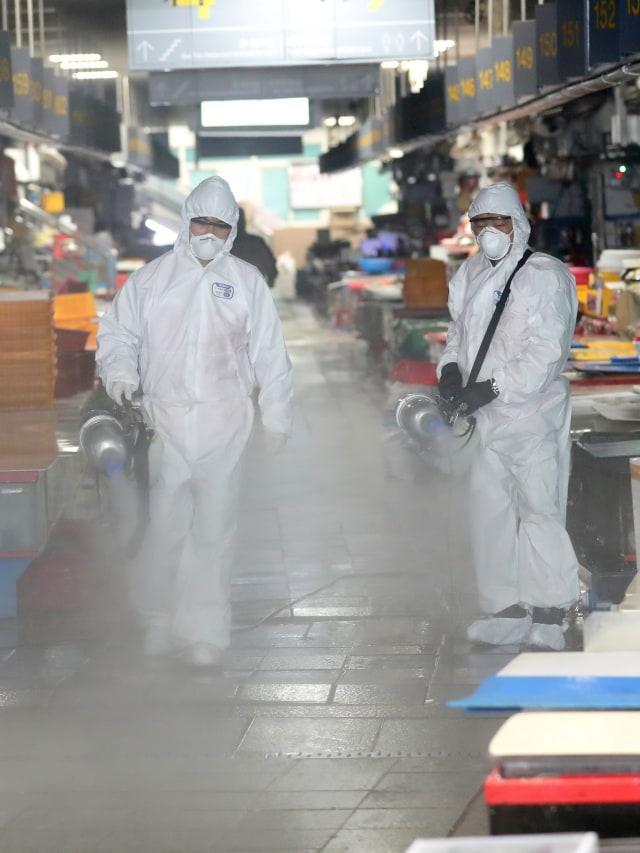 PTR- virus corona di Korea Selatan