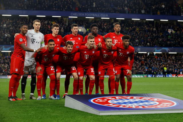 Chelsea melawan Bayern Muenchen