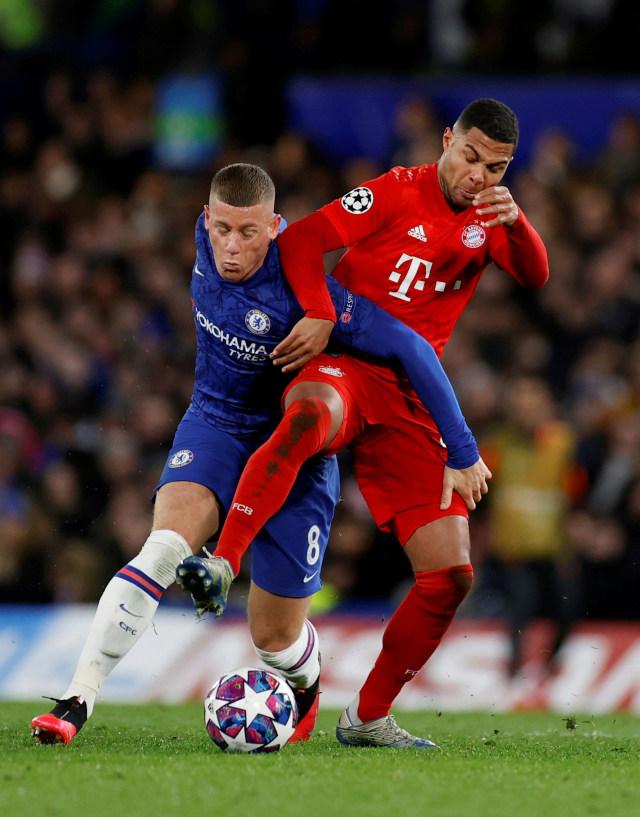 PTR-Chelsea melawan Bayern Muenchen