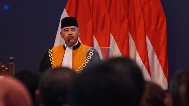 Ketua Mahkamah Agung Muhammad Hatta Ali