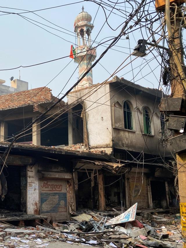 FPI-PA 212 Demo di Kedubes India 6 Maret, Protes Kekerasan terhadap Muslim (369113)