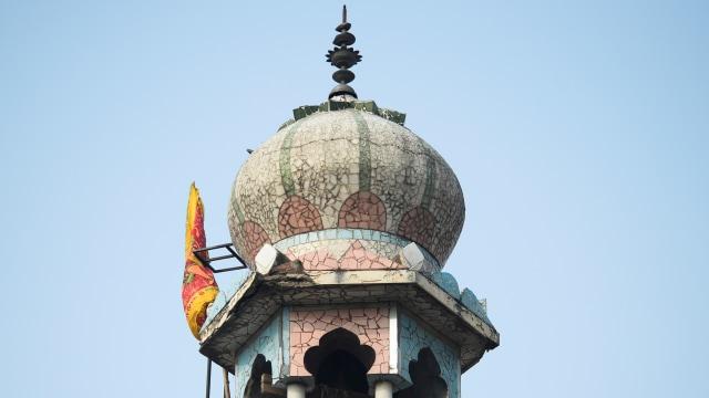 Masjid terbakar di India