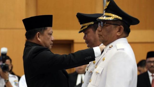 Lantik Bupati Talaud Elly Lasut, Mendagri Laksanakan Tugas Konstitusional (133968)
