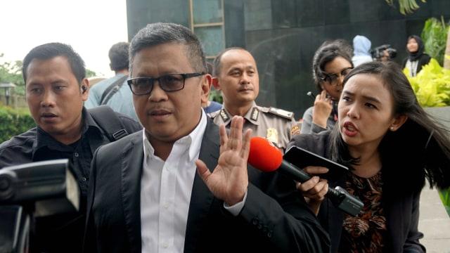 Hasto Kristiyanto di KPK