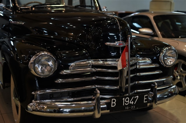 Chevrolet Fleetmaster, Mobil Eks Jenderal Sudirman yang Laku Rp 650 Juta (45607)