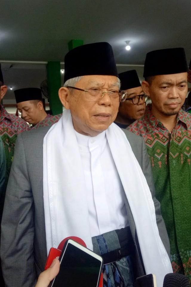 Ma'ruf Amin Hadiri Pembukaan Rakornas Ikatan Dai Indonesia (11497)