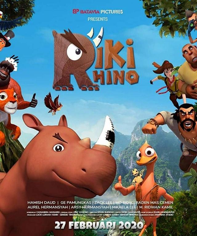 Sinopsis Film Riki Rhino, Tayang Hari Ini di Bioskop (93283)