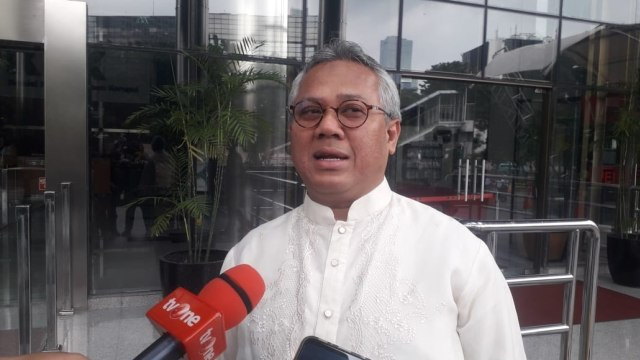 Ketua KPU Arief Budiman di KPK