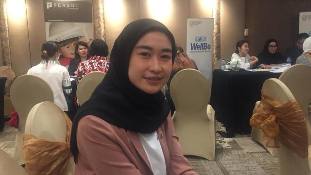 Nani, seorang pekerja ikut program Indonesia-Japan