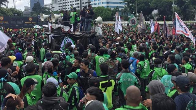 Ojol Ancam Demo Istana jika Tetap Dilarang Bawa Penumpang saat New Normal (207572)