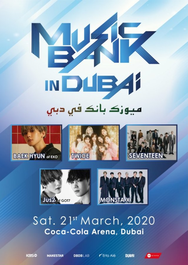 KBS Music Bank di Dubai