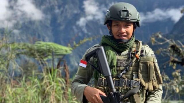 Anggota Brimob yang ditembak KKB di Papua