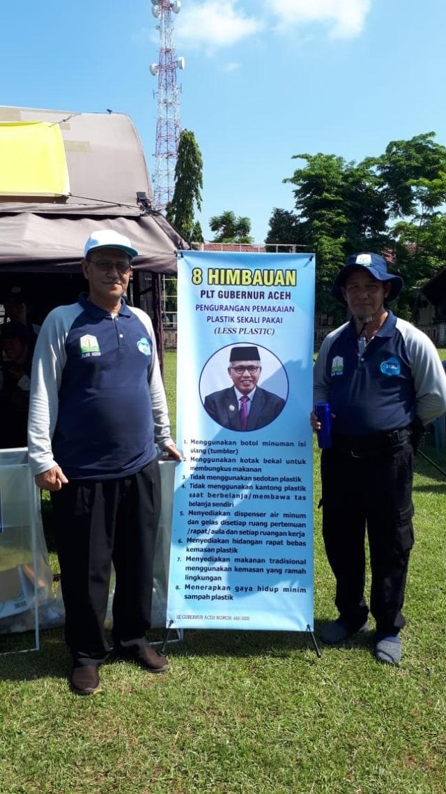 Aceh Targetkan Tahun 2025 Bebas Sampah, Warga Diimbau Kurangi Pemakaian Plastik (112268)