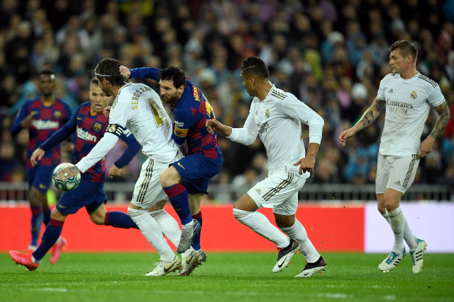 Link Live Streaming Real Madrid vs Barcelona di Duel El Clasico  (303912)