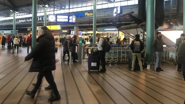 Suasana Bandara Schipol, Amsterdam