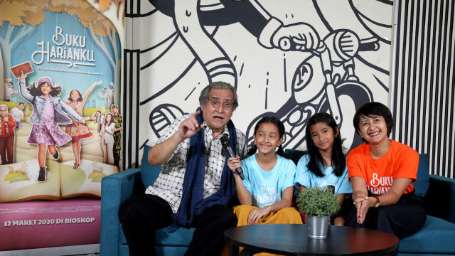 Foto: Bincang Seru Bareng Pemain Film Buku Harianku di kumparan (165831)