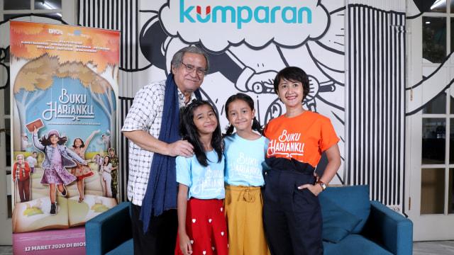 Cerita Slamet Rahardjo Akting Bareng Anak-anak di Film Buku Harianku (146184)
