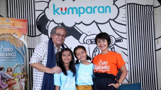 Foto: Bincang Seru Bareng Pemain Film Buku Harianku di kumparan (165826)