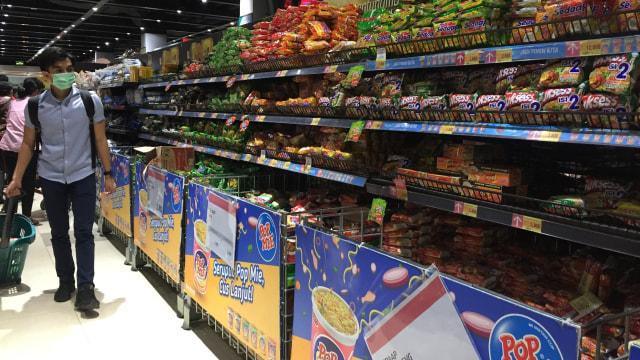 Ramai Berita Corona, Supermarket di Apartemen Pramuka Masih Normal (606200)