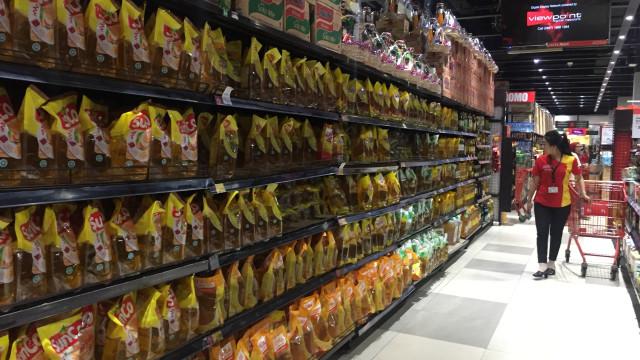 Supermarket di Apartemen Green Pramuka
