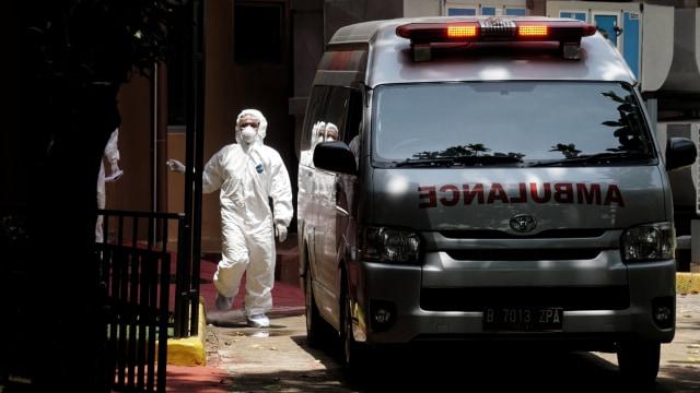 Pasien diduga terkena virus corona