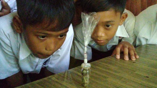 Botol yang diduga berisi Tuyul di Ciamis
