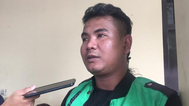 Luthfi Aditya Kusuma (29) ojol korban pengeroyokan
