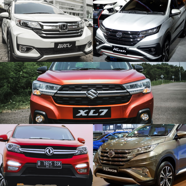 Perang Low SUV Bulan April, Suzuki XL7 Taklukkan Toyota Rush (118777)