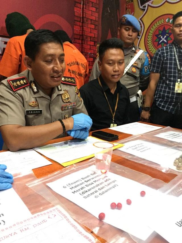 Rilis penipuan batu akik Banda Aceh