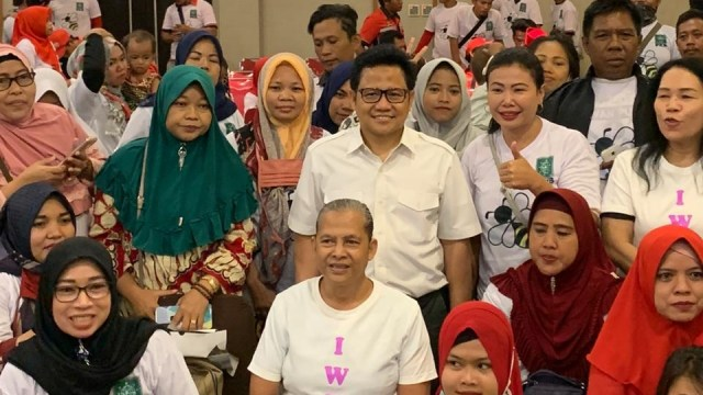 Muhaimin Iskandar di JGC