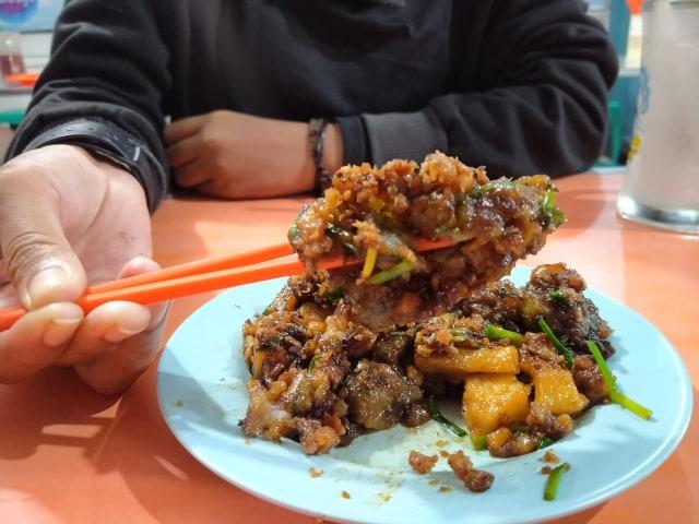 Mencicipi Cha Ko Kue 'Ko Ahweng', Makanan Khas Warga Tionghoa di Pontianak