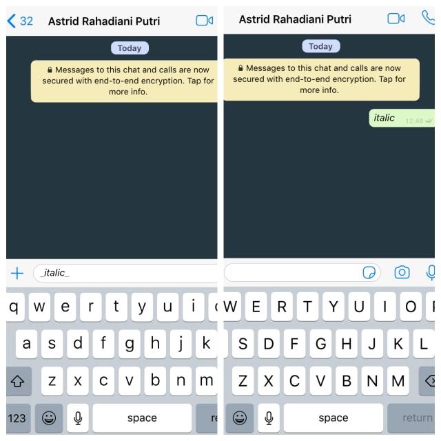 Cara Ganti Font Whatsapp Bold Italic Coret Monospace Kumparan Com