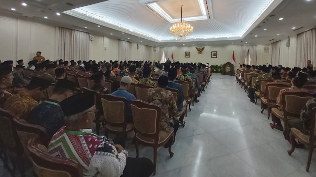 Ma'ruf Amin Hadiri Pembukaan Rakornas Ikatan Dai Indonesia (11500)