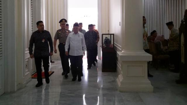 Ma'ruf Amin Hadiri Pembukaan Rakornas Ikatan Dai Indonesia (11498)
