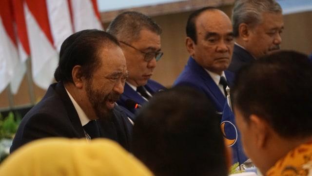 Surya Paloh Ingin Parliamentary Threshold 7% dan Presidential Threshold 15%  (12407)