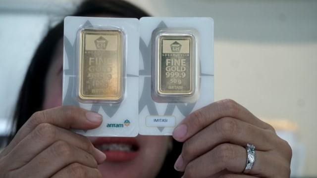 Harga Emas Antam Turun Rp 1.000 Per Gram di Awal Pekan (407964)