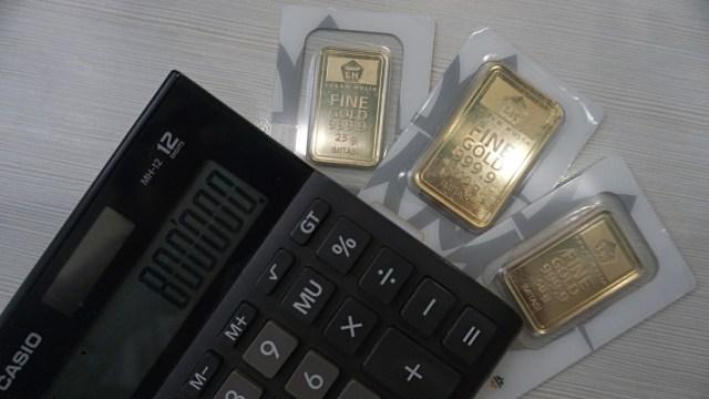 Harga Emas Antam Turun Rp 10.000, Jadi Rp 955.000 per Gram (237111)