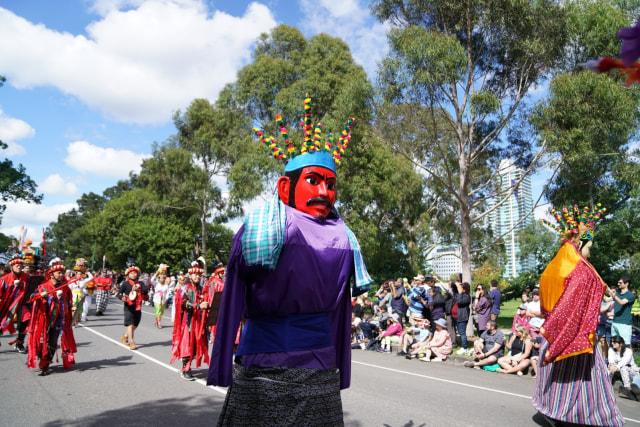 Ragam Budaya Indonesia Meriahkan Moomba Festival Parade 2020 di Melbourne (210179)