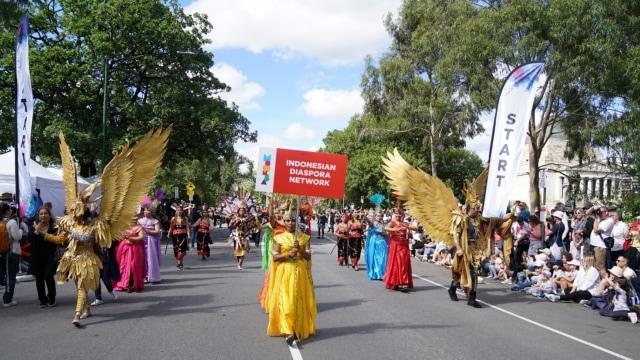 Ragam Budaya Indonesia Meriahkan Moomba Festival Parade 2020 di Melbourne (210180)