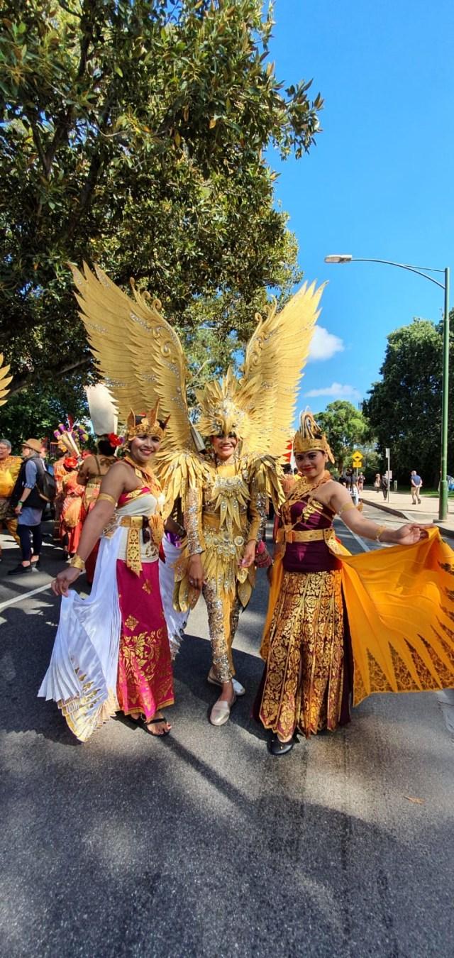 Ragam Budaya Indonesia Meriahkan Moomba Festival Parade 2020 di Melbourne (210173)