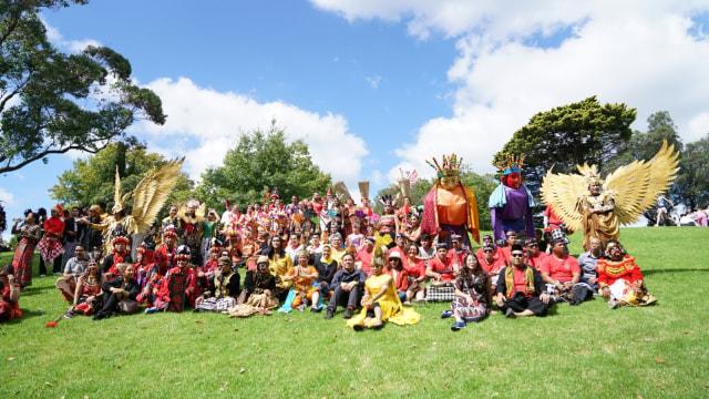 Ragam Budaya Indonesia Meriahkan Moomba Festival Parade 2020 di Melbourne (210178)
