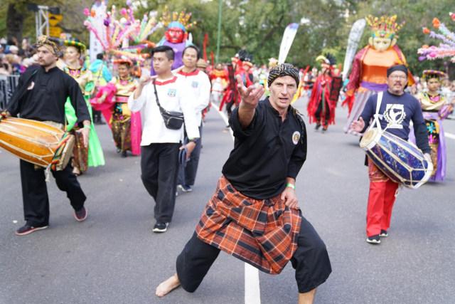 Ragam Budaya Indonesia Meriahkan Moomba Festival Parade 2020 di Melbourne (210177)