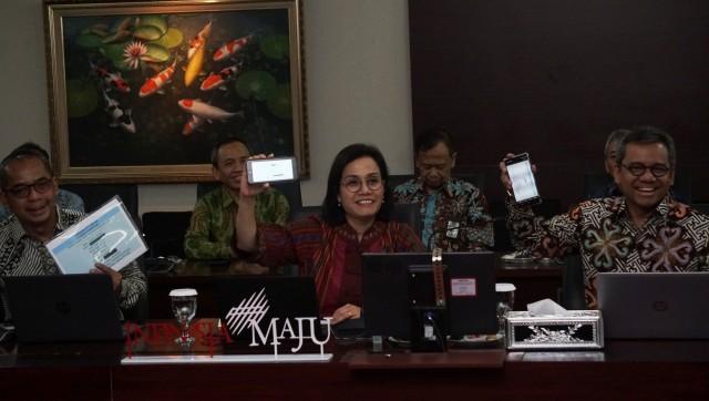 Sri Mulyani Sharing Cara RI Hadapi Corona ke Bos IMF dan Bank Sentral Eropa (93744)