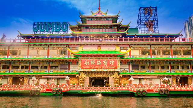 Jumbo Floating Restaurant di Hong Kong