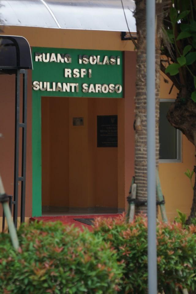 PTR - LIPSUS Tak Siap Corona RSPI Sulianti Saroso