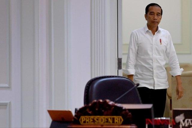 Presiden Joko Widodo, rapat terbatas