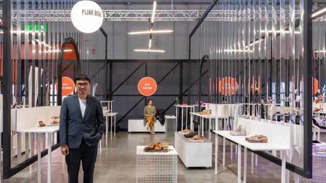 Sepatu Lokal Pijakbumi Dapat Penghargaan dari The MICAM Milano Italia (50748)