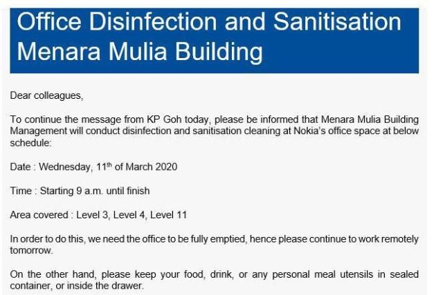 Nokia Bantah Karyawan di Jakarta Meninggal Akibat Virus Corona (1765)