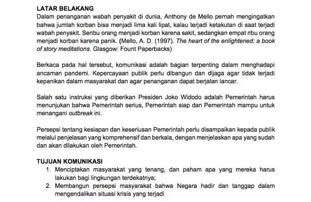 Semrawut (Informasi) Corona di Indonesia (74685)